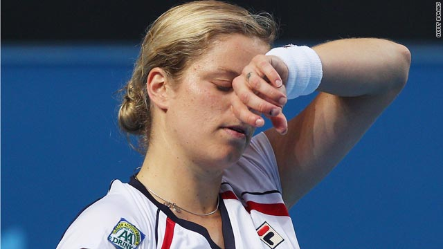 Kim Clijsters suffered her worst result on the WTA Tour as she won only one game against Nadia Petrova.