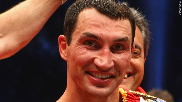 Klitschko's last fight saw him stop Ruslan Chagaev in the ninth round in Gelsenkirchen last June.