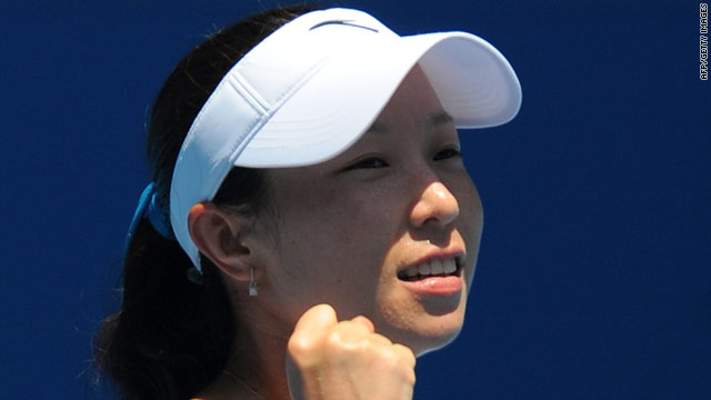Zheng reached the Wimbledon semifinals in 2008 and is now through to the last eight of the Australian Open.
