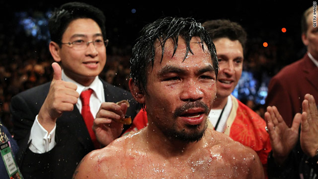 Manny Pacquiao could still fight Floyd Mayweather despite talks breaking down over their March contest.