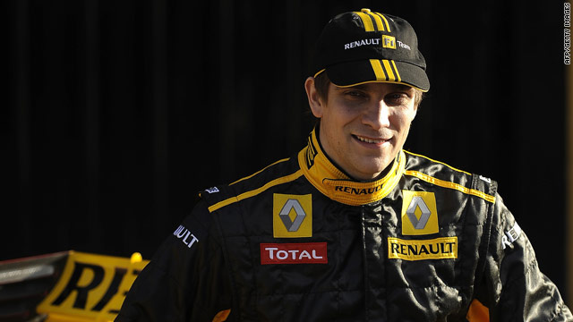Vitaly Petrov becomes the first Russian to compete in Formula One after signing a contract with Renault.