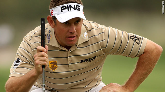 English golfer Lee Westwood is looking to clinch his first title of 2010 with another victory in Dubai.