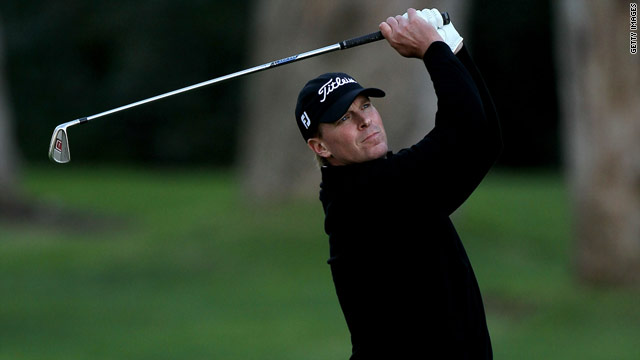 American golfer Steve Stricker is seeking to win his eighth title on the U.S. PGA Tour.