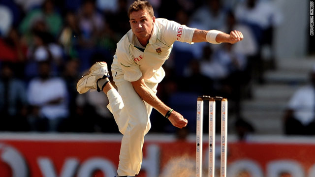 South African fast bowler Dale Steyn took a career-best 7-51