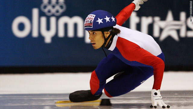 Apolo Anton Ohno has won five medals in his Olympics career, which started at Salt Lake City in 2002.