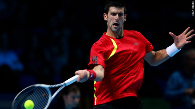 Novak Djokovic  is through to the semifinals in Rotterdam after last eight opponent Florian Mayer pulled out.