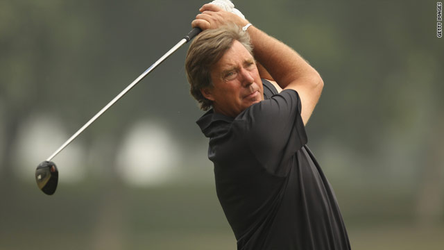 Barry Lane carded a second successive 67 to lead the weather-shortened Avantha Masters in New Delhi.