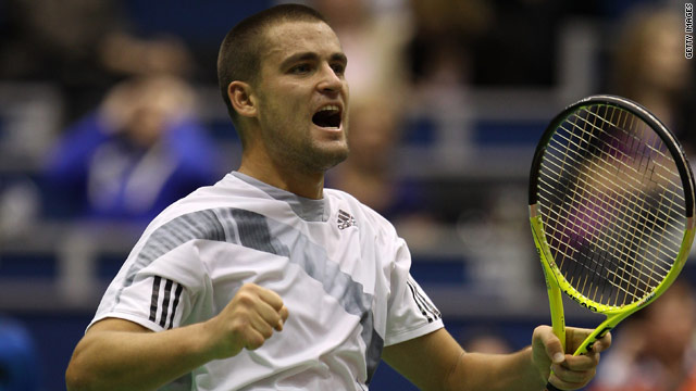 Mikhail Youzhny is on track to repeat his 2007 Rotterdam win following his semifinal victory over Novak Djokovic.