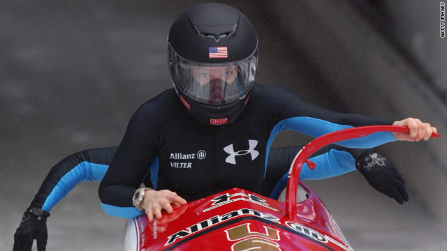 Shauna Rohbock moved from the back of the bobsled to the front and in the process changed the way female bobsledders race.