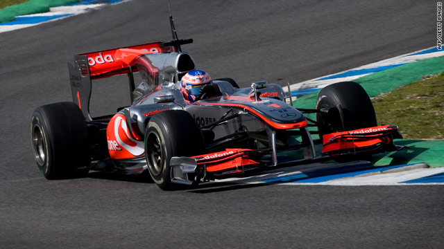 Jenson Button has joined fellow world champion and compatriot Lewis Hamilton at British team McLaren.