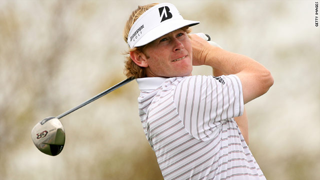 American golfer Brandt Snedeker is seeking to win his second title on the PGA Tour.