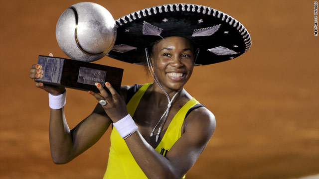 Venus Williams was delighted after winning two tournaments in a row for the second straight year.