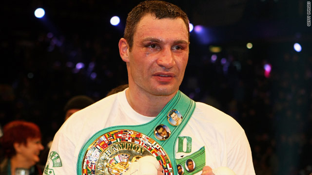 Vitaly Klitschko is desperate to fight David Haye, although his brother is also keen to face the Briton.