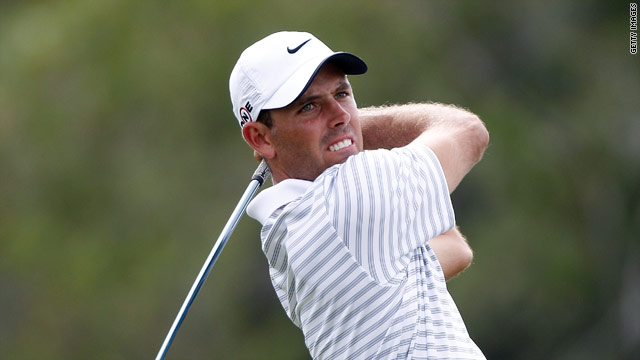 Charl Schwartzel continued his fine early season form to lead on the Blue Monster.