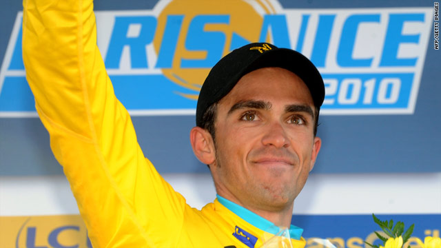 Tour de France champion Alberto Contador continued his domination of stage races with victory in Paris-Nice.