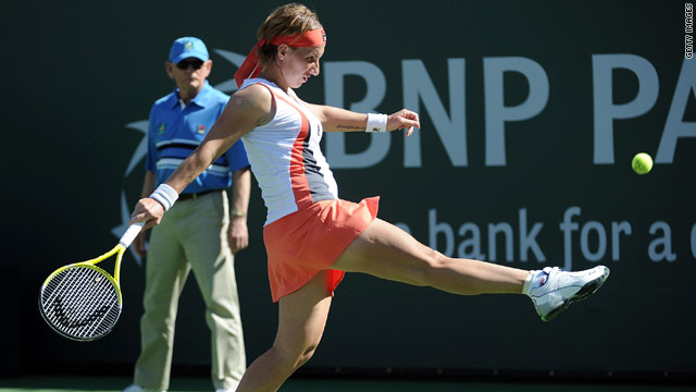 French Open champion Svetlana Kuznetsova was left frustrated by her early exit in California.