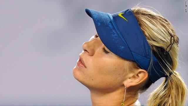 Sharapova has struggled to regain her former top ranking after injury.