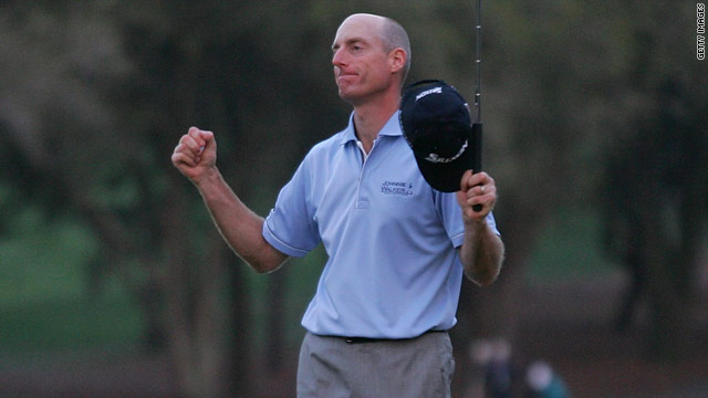 Jim Furyk was relieved after ending a run of 58 tournaments without a victory on the PGA Tour.
