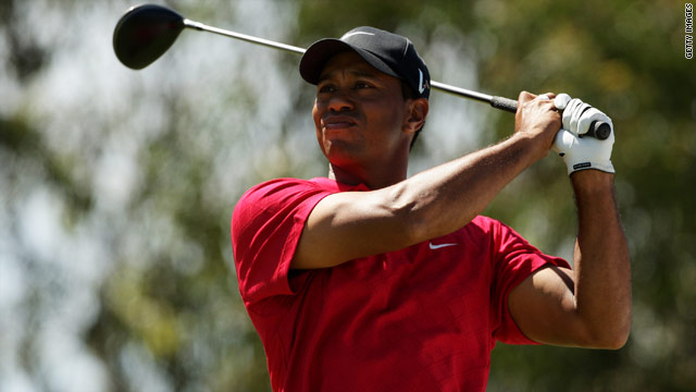 World No. 1 Tiger Woods has won the Masters Tournament four times, the last occasion being in 2005.