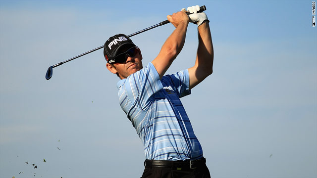 Louis Oosthuizen claimed his first victory on the European Tour after four previous runners-up finishes.