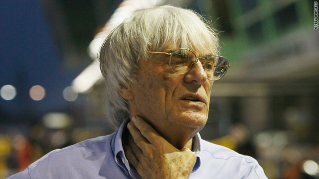 Formula One boss Bernie Ecclestone wants a New York Grand Prix by 2012.