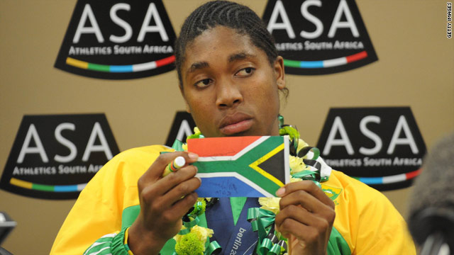 Caster Semenya has not raced since claiming gold in the 800 meters at the World Championship in Berlin last August