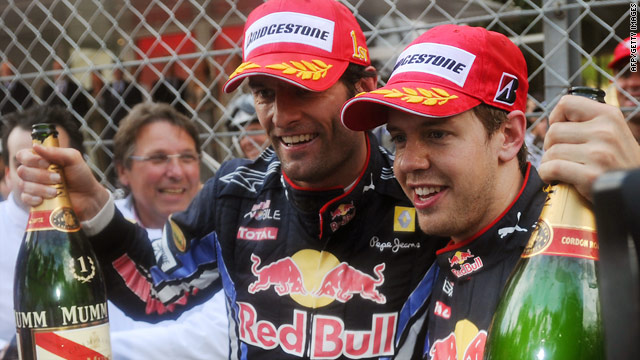 There is no stopping Red Bull duo Mark Webber and Sebastian Vettel at the top of the drivers' standings.