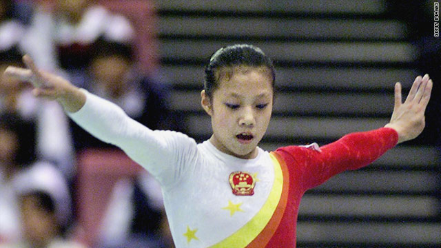Dong Fangxiao was 14-years-old when she won the bronze medal at the 2000 Olympics in Sydney.