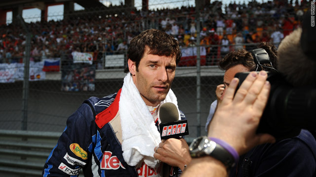Mark Webber still leads the title race after third place in the Turkish Grand Prix.
