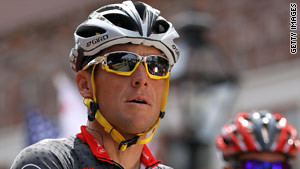 """It's been a great ride,"" Lance Armstrong said on his official Twitter account Monday. The race starts Saturday."