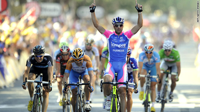 Alessandro Petacchi has been a big success so far in his first Tour de France since 2004.