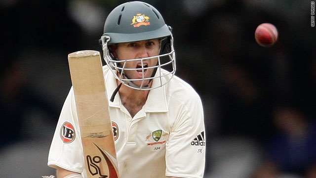 Simon Katich hit 83 as Australia set Pakistan a world record target of 440 to win the first Test at Lord's.