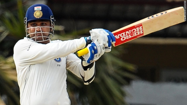 Virender Sehwag survived a dropped chance on 52 to move within touching distance of another Test ton.