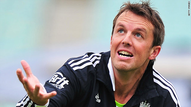 Spin bowler Graeme Swann has been the butt of jokes from his England teammates on Twitter.