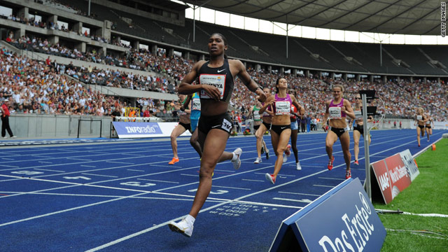 Caster Semenya has been selected for South Africa's Commonwealth Games team