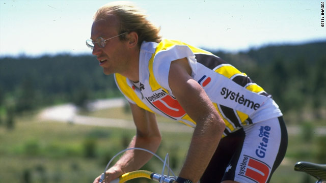 Laurent Fignon was one of the greatest cyclists of all time, twice winning the Tour de France.