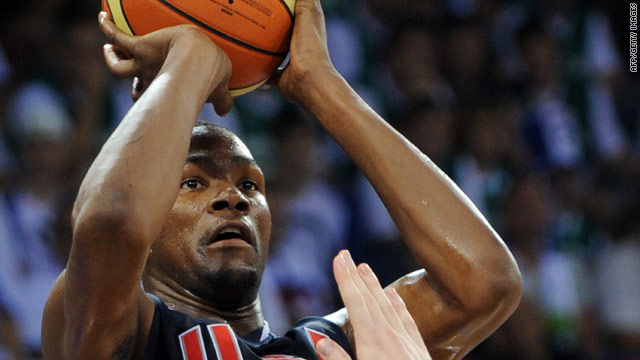 Kevin Durant was the star of the show as the United States eased into the world basketball semifinals.