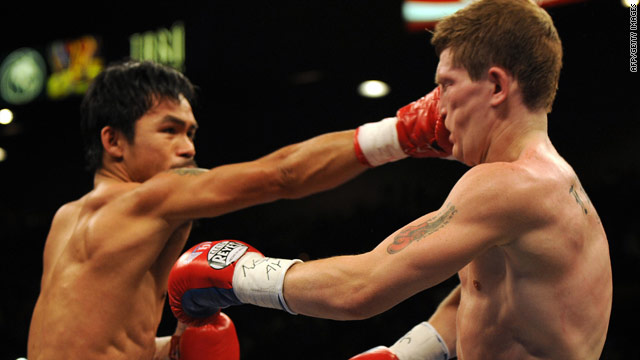Hatton (right) has not been seen in the ring since his defeat to Manny Pacquiao in May 2009.