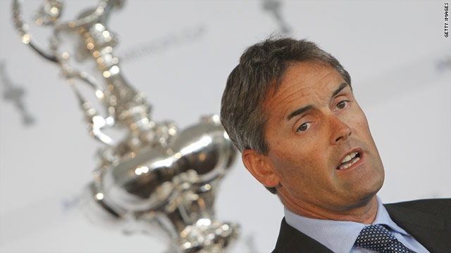 Russell Coutts is CEO of 2010 America's Cup winners BMW ORACLE Racing.