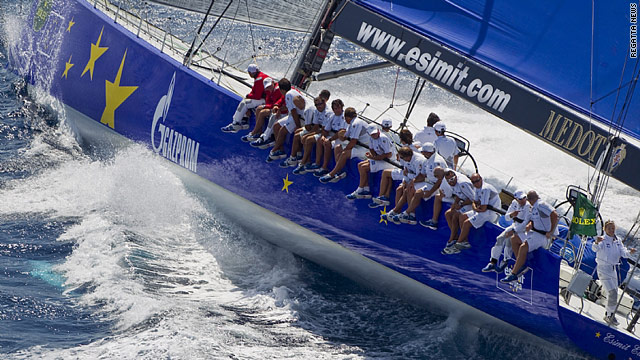 Esimit Europa 2 took the biggest prize at the Maxi Rolex Cup