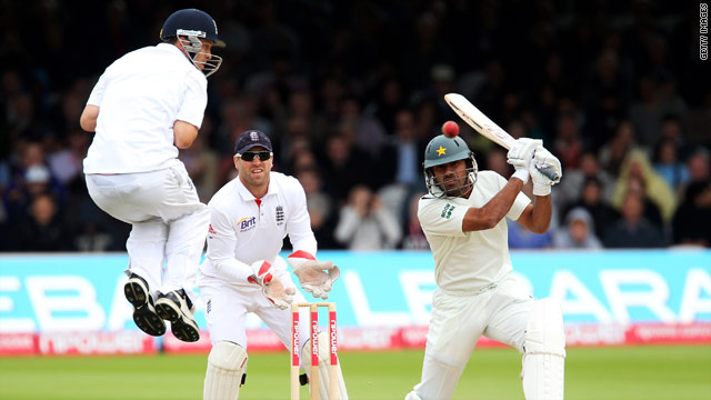 Pakistan playing against England in the fourth Test at Lord's in August.