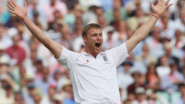 Andrew Flintoff's Test swansong was to help England regain the Ashes against Australia in 2009.