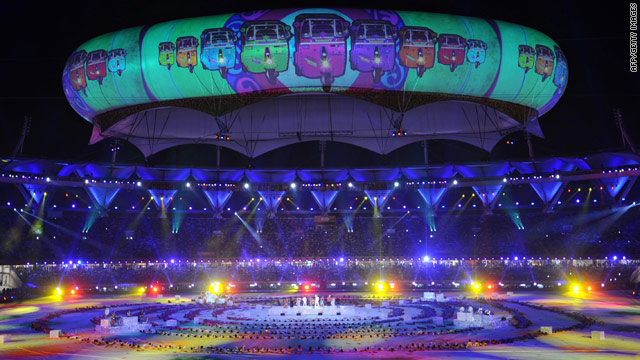 A glittering ceremony brought the Commonwealth Games to a close in New Delhi on Thursday.