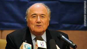 FIFA President Sepp Blatter says the group is looking into allegations that officials asked for bribes.