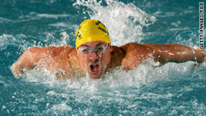 An investigation is under way in the death of U.S. swimmer Fran Crippen, pictured in January 2007.