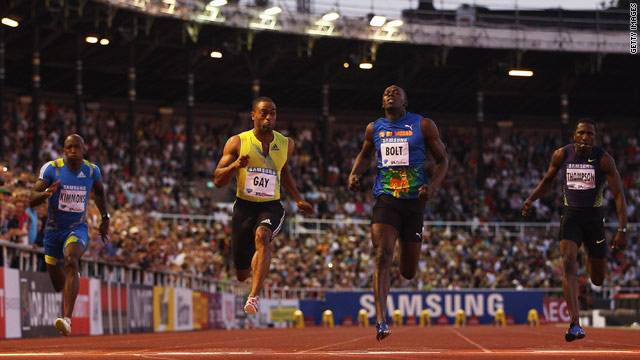 Tyson Gay inflicted a first defeat in two years on Usain Bolt back in August.
