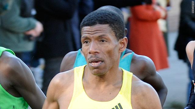 Gebrselassie aggravated a knee injury in Sunday's New York Marathon.