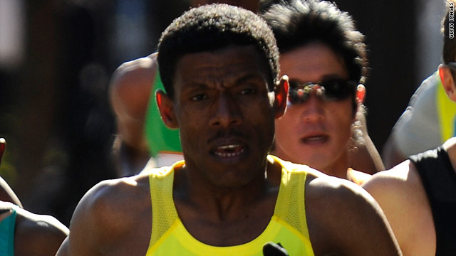 Haile Gebrselassie has set world records in the 5000 and 10000 meters as well as the marathon.