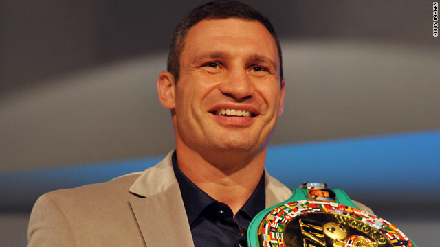 Vitali Klitschko says he would knock out David Haye if the two boxers ever met in the ring.