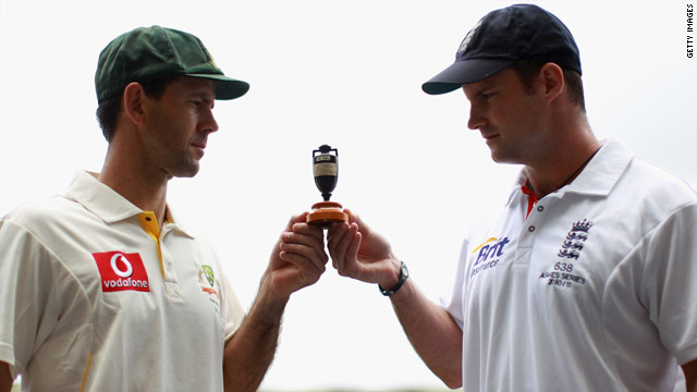 Ricky Ponting, left, is hoping to erase memories of Australia's Ashes defeat to England captain Andrew Strauss, right.